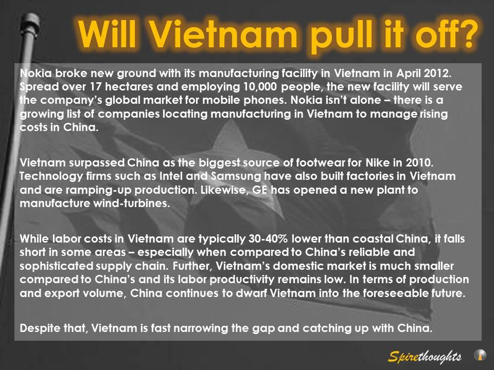 Will Vietnam pull it off?   Asia Business Development - Asia