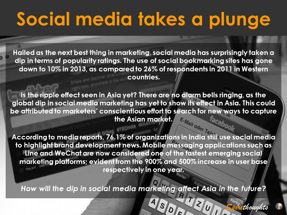 Social media takes a plunge | Asia Business Development