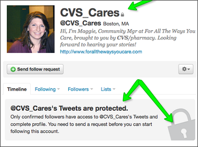 Social media fail - CVS Cares
