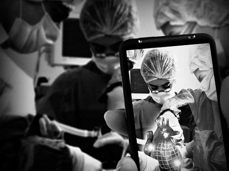 Augmented reality technology to change surgical procedures?