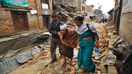 The Earthquake in Nepal jolts the economy