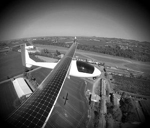 Take off with solar powered planes