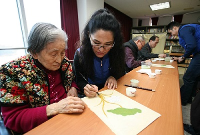 Nursing homes for the elderly in Korea