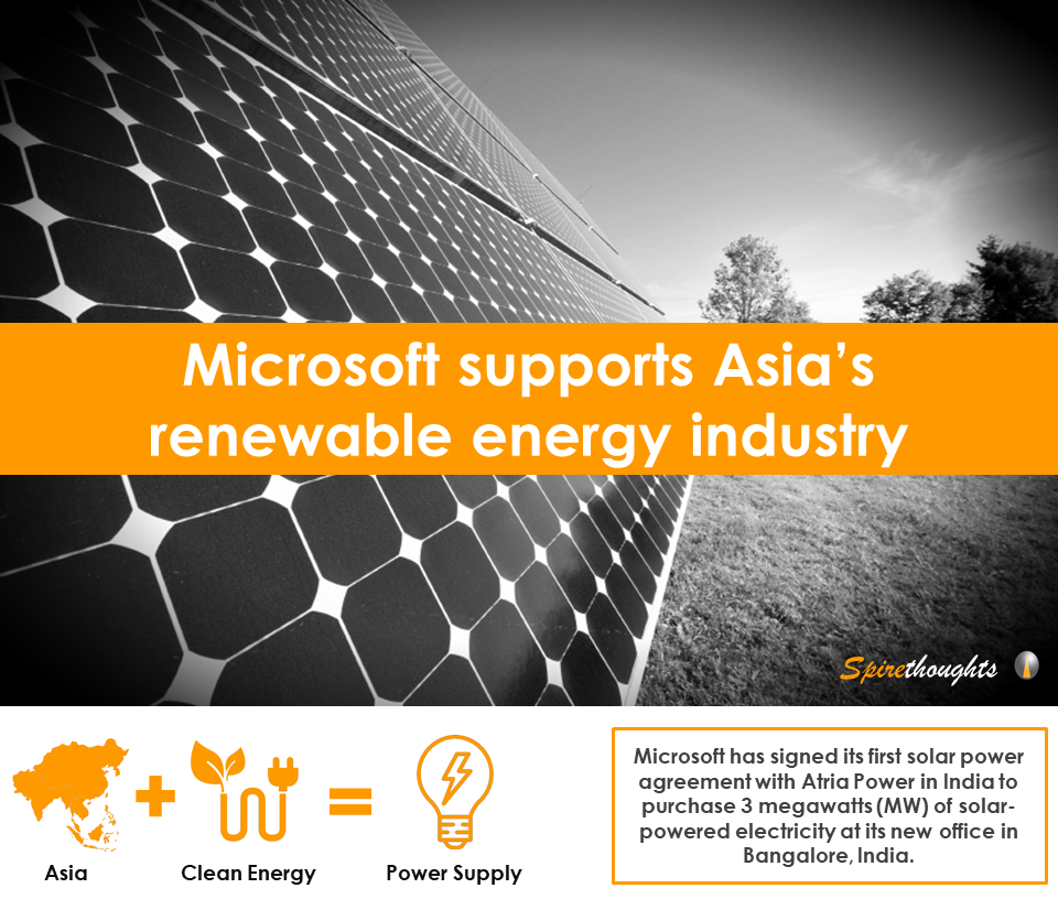 Microsoft Supports Asias Renewable Energy Industry Asia Business