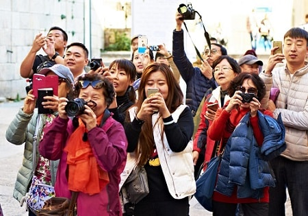 Asia tourism growth surges due to Chinese visitors